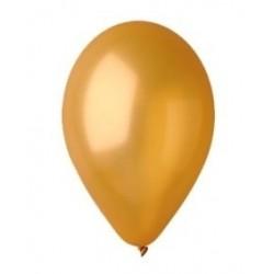 """Balon gumowy 14"""" 30cm złoty metalic, 1szt."""