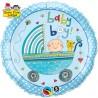 """Balon foliowy 18"""" Baby Boy -wózek"""