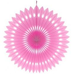 Rozeta dekoracyjna różowa, śr. 40 cm