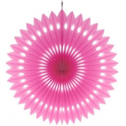 Rozeta dekoracyjna magenta, 40 cm