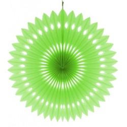 Rozeta dekoracyjna pistacjowa, śr. 40 cm