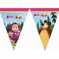 Baner flagi Masha and the Bear, 230cm